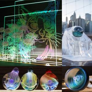 Energy Frog glass